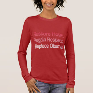 Anti Obama 2012 Election Long Sleeve T-Shirt