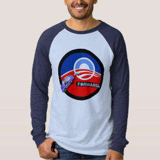 Anti-Obama 2012: Forward to where? Tshirt