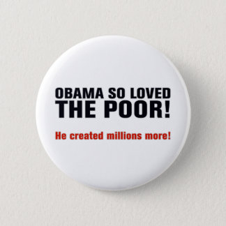 Anti Obama 6 Cm Round Badge