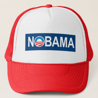 Anti Obama Anti-Obama Nobama Trucker Hat