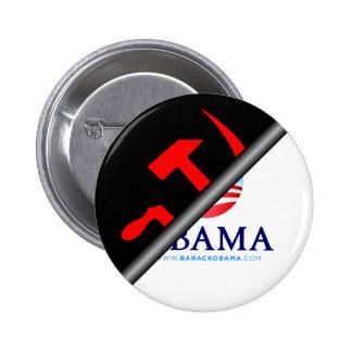 Anti Obama - Anti Socialist 6 Cm Round Badge