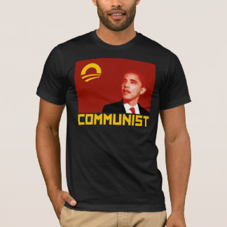 Anti-Obama: Barack Obama Communist T-Shirt