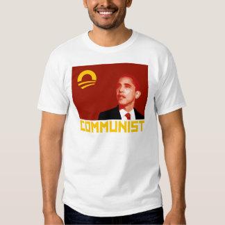 Anti-Obama: Barack Obama Communist T Shirts