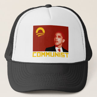 Anti-Obama: Barack Obama Communist Trucker Hat