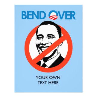 Anti-Obama - Bend Over 21.5 Cm X 28 Cm Flyer