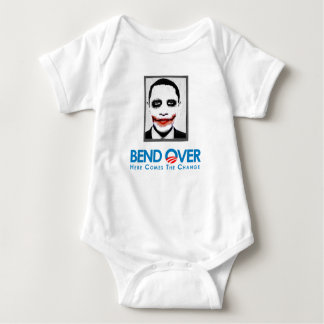 Anti-Obama - Bend Over for change Baby Bodysuit