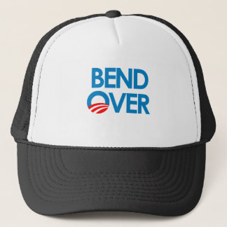 Anti-Obama - Bend Over Trucker Hat