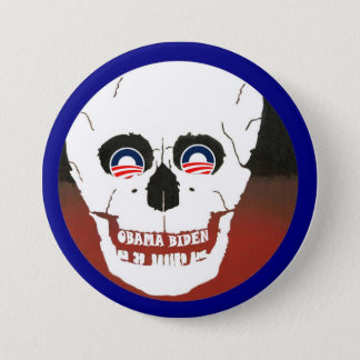 Anti-Obama-Biden 7.5 Cm Round Badge
