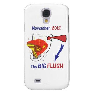 Anti Obama Big Flush Light Background Galaxy S4 Cases