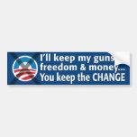 Anti-Obama Bumper Sticker Car Bumper Sticker
