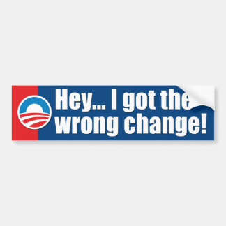 Anti-Obama Bumper Stickers