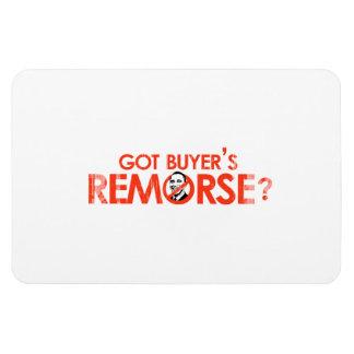 ANTI-OBAMA BUMPERSTICKER - GOT BUYERS REMORSE- Fad Vinyl Magnet