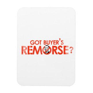 ANTI-OBAMA BUMPERSTICKER - GOT BUYERS REMORSE- Fad Rectangular Photo Magnet