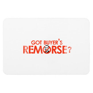 ANTI-OBAMA BUMPERSTICKER - GOT BUYERS REMORSE- Fad Rectangular Photo Magnet