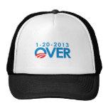 Anti-Obama Bumpersticker - Over 1-20-2013 Trucker Hats