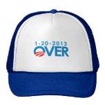 Anti-Obama Bumpersticker - Over 1-20-2013 Hats