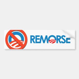 Anti-Obama Bumpersticker - Remorse Bumper Stickers