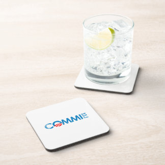 ANTI-OBAMA - COMMIE- Faded.png Coaster
