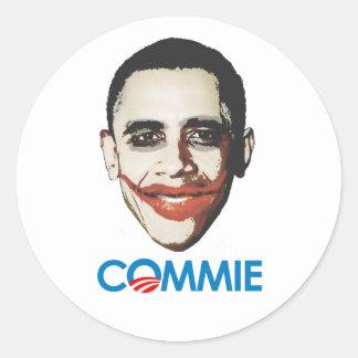 Anti-Obama - Commie Stickers