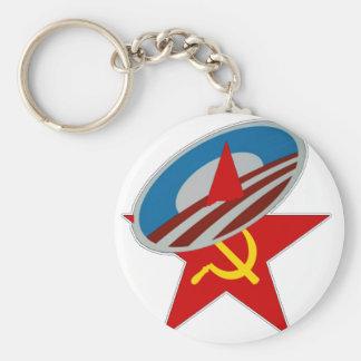 ANTI OBAMA COMMUNIST /SOCIALIST STAR SYMBOL KEY CHAINS