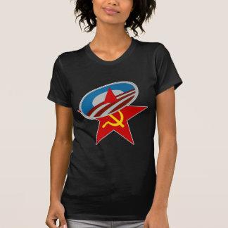 ANTI OBAMA COMMUNIST /SOCIALIST STAR SYMBOL T-Shirt