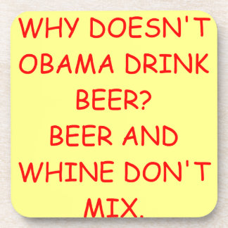anti obama drink coasters