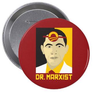 Anti-Obama: Doctor Marxist 10 Cm Round Badge