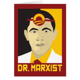 Anti-Obama: Doctor Marxist Greeting Card