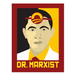 Anti-Obama: Doctor Marxist Postcard