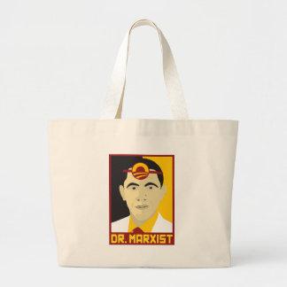 Anti-Obama: Doctor Marxist Jumbo Tote Bag
