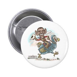 Anti-Obama Dodo Extinction 2012 6 Cm Round Badge