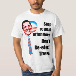 Anti Obama - Don't Re-elect - 2012 Shirt