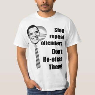 Anti Obama - Don't Re-elect - 2012 T Shirt