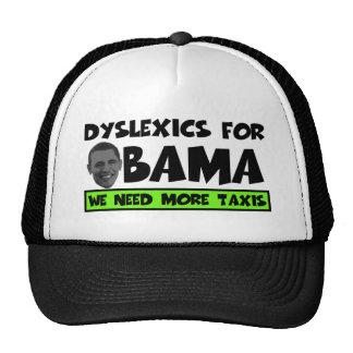 Anti Obama dyslexia Cap