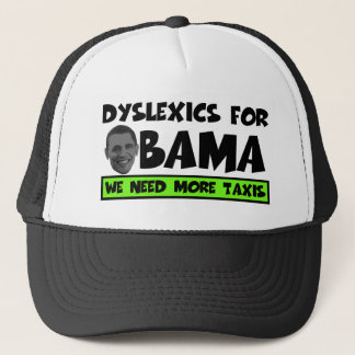 Anti Obama dyslexia Trucker Hat