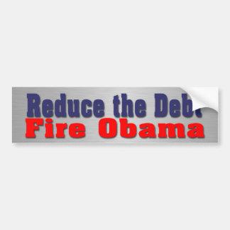 Anti-Obama election memorabilia Bumper Sticker