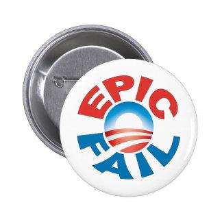Anti-Obama Epic Fail button