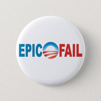 Anti-Obama Epic Fail button