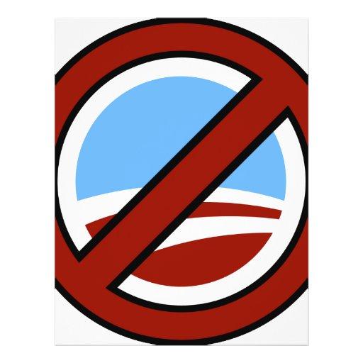 Anti Obama Custom Flyer