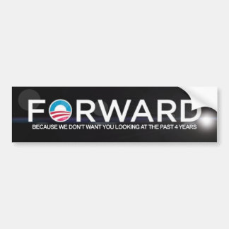 Anti Obama - Forward - 2012 Bumper Sticker