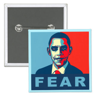 Anti Obama gifts 15 Cm Square Badge