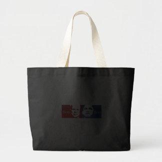 Anti-Obama - Hero vs. Zero Jumbo Tote Bag