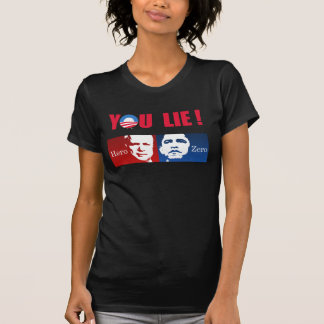 Anti-Obama - Hero vs. Zero Tshirts