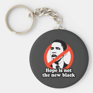 ANTI-OBAMA / HOPE IS NOT THE NEW BLACK KEY RING
