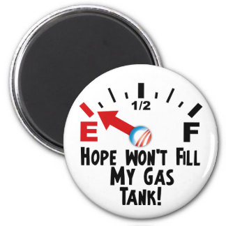 Anti Obama - Hope on Empty 6 Cm Round Magnet