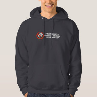 Anti-Obama - If Obama screws up healthcare Bumpers Hooded Sweatshirt