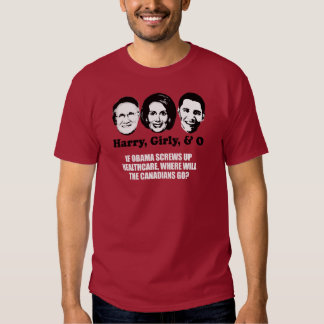 Anti-Obama - If Obama screws up healthcare Bumpers Tees