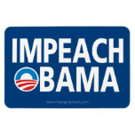 Anti Obama - Impeach Flexible Magnet
