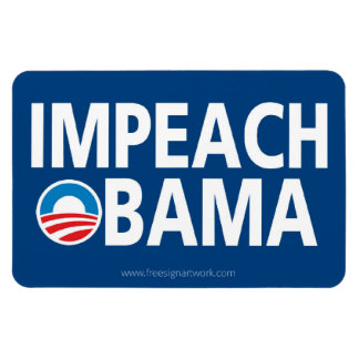 Anti Obama - Impeach Magnet