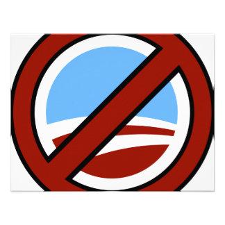 Anti Obama Personalized Invitations